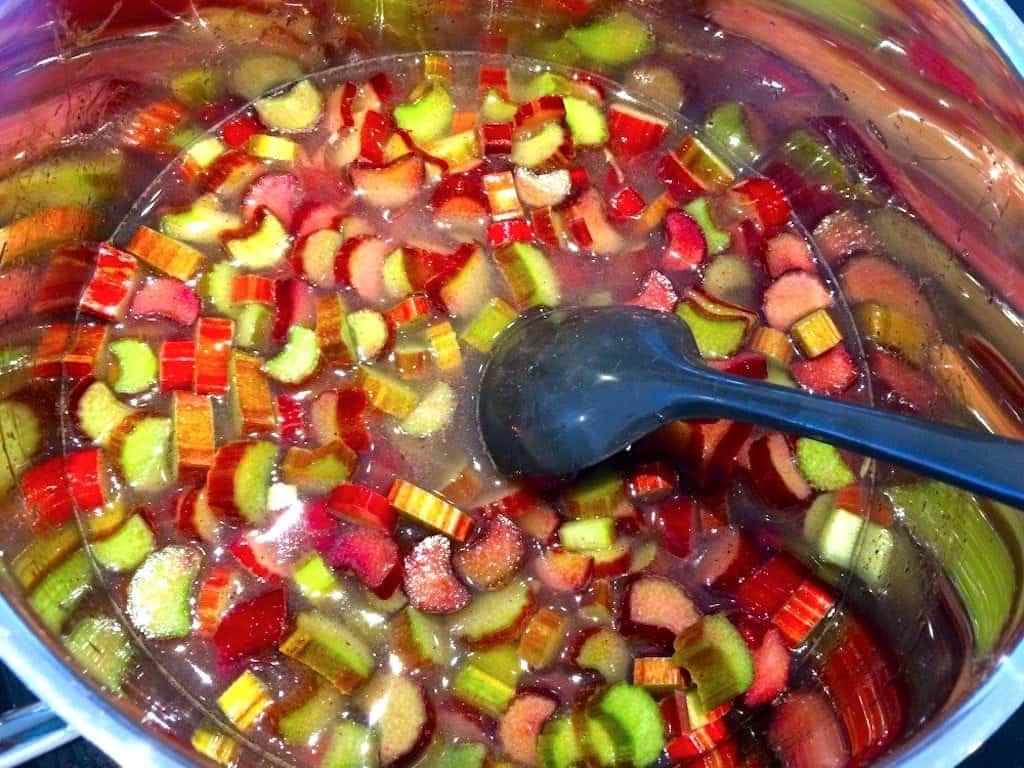 Rabarbergrød - opskrift på lækker grød med rabarber