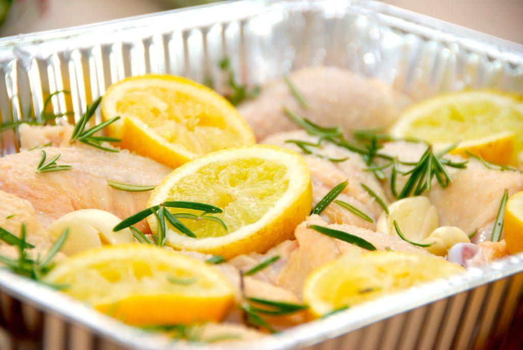 Citronkylling – kylling med citron og hvidløg opskrift