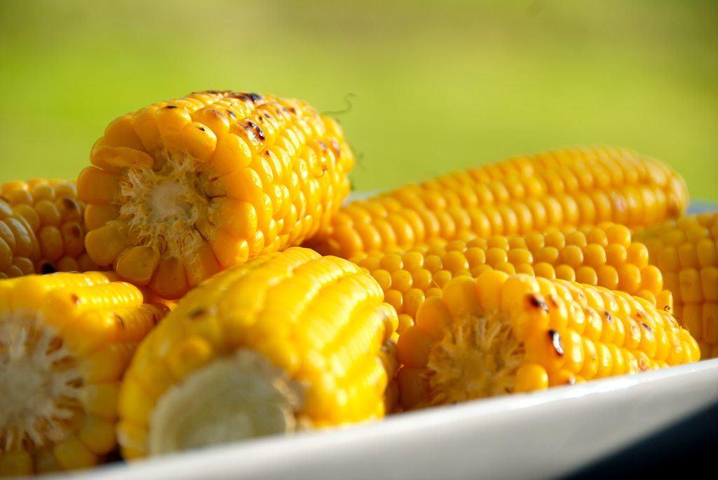 Billed resultat for majs i grill