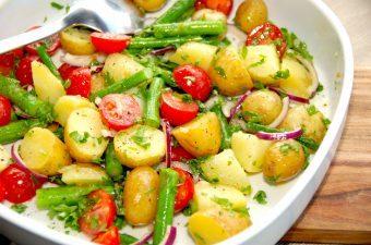 Billed resultat for kartoffelsalat