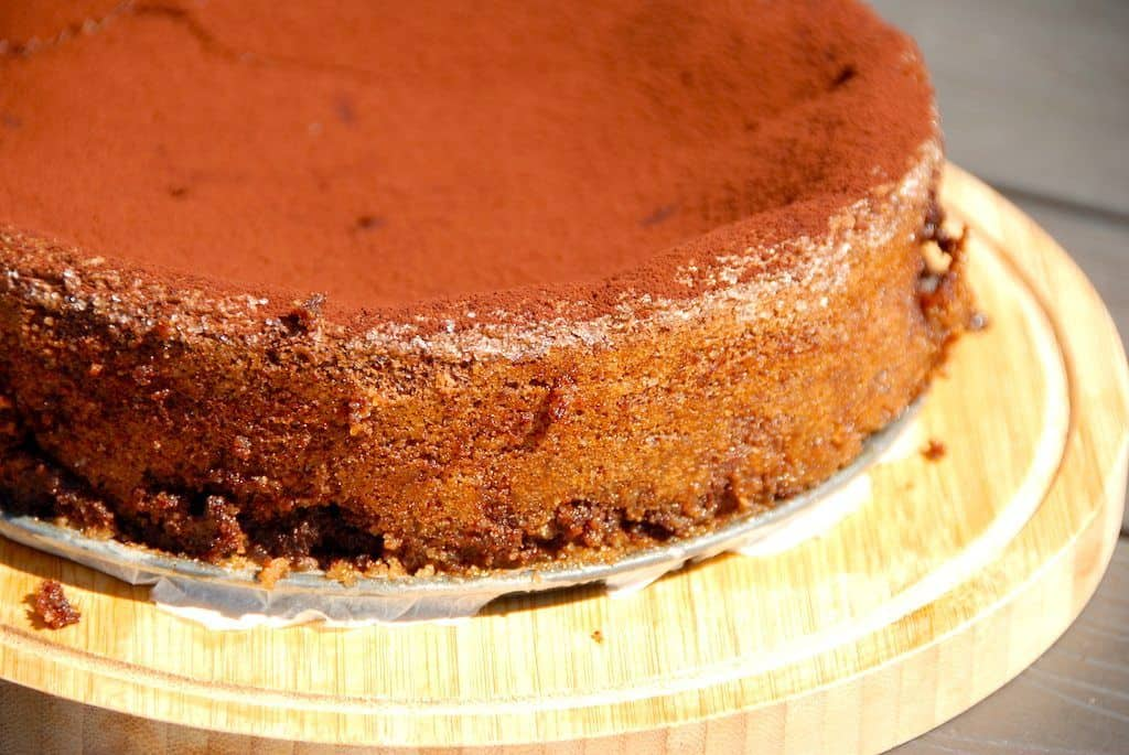 Chokoladekage med chokolade opskrift
