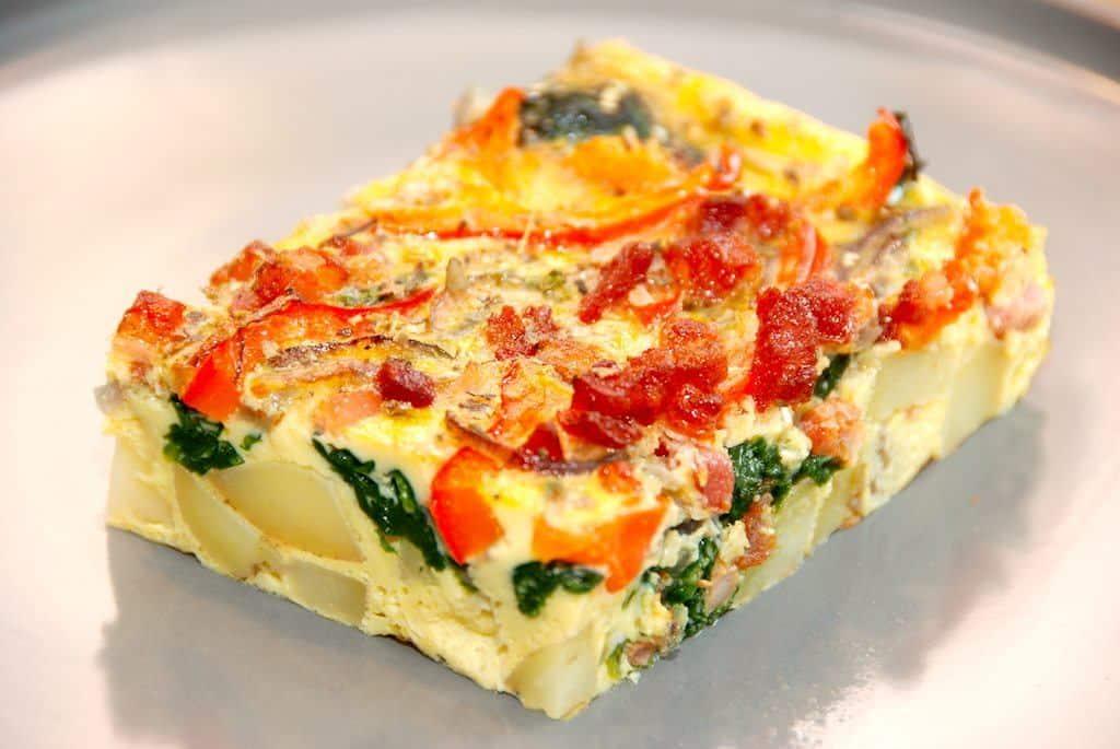 Frittata opskrift - italiensk æggekage med kartofler
