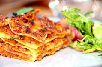 Lasagne: Verdens bedste opskrift på lasagnen
