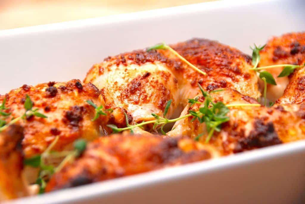 Lørdagskylling med paprika (kylling i ovn)