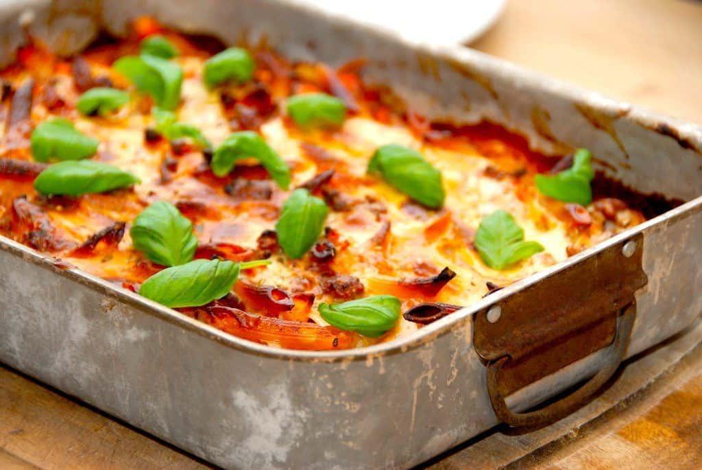 Lasagnette - verdens bedste opskrift med pastapenne