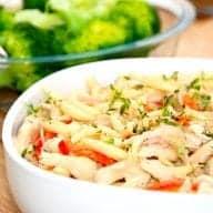 billede til pasta med kylling