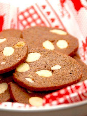 Brunkager med pistacienødder og mandler