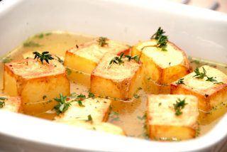 Fondant kartofler – pommes fondant