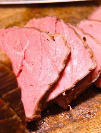 Roastbeef i ovn steges ved 125 grader