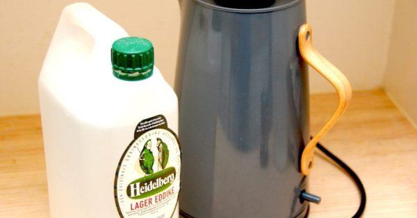 Billede resultat for afkalkning af elkedel og kaffemaskine
