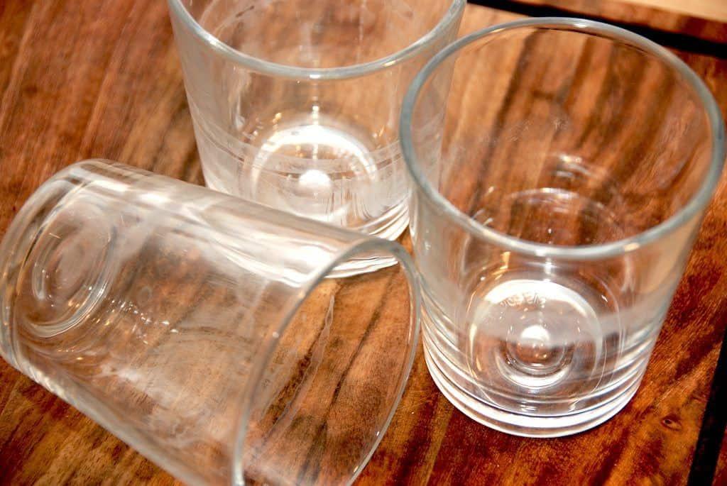 glaspest på glas
