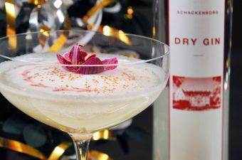Nytårsdrink: Schackenborg Dry Gin Fizz Cocktail