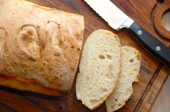 Brød med økologisk gær (langtidshævet)