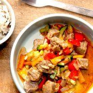 græsk gyros med oksekød