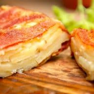 billederesultat for kartoffelkage med bacon