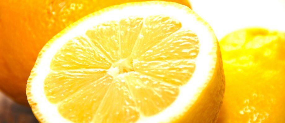 billede med citron
