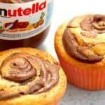 muffins med nutella