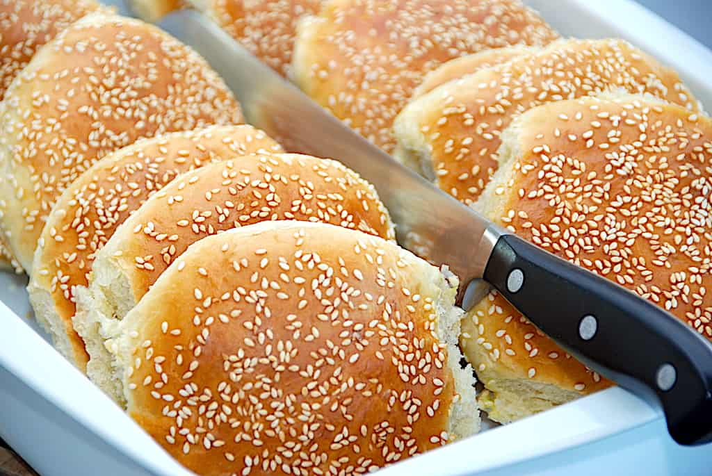 Burgerboller - de perfekte boller til burgere!