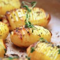 billederesultat for hasselback kartofler