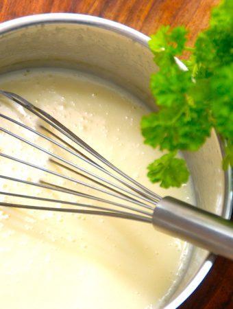 Hvid sovs – bechamelsauce – sauce velouté