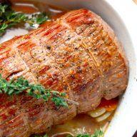 billederesultat for langtidsstegt roastbeef i ovn