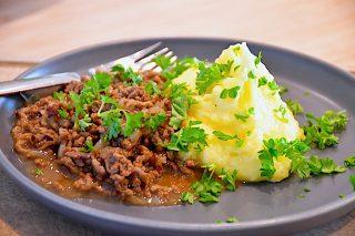 billede for millionbøf med kartoffelmos