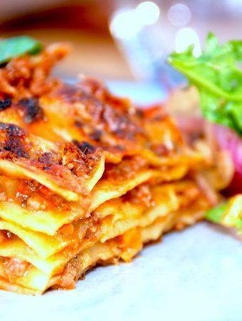 Lasagne – lækker og nem opskrift på hjemmelavet lasagne