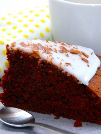 Farmors chokoladekage i springform eller bradepande