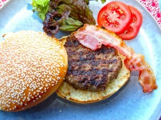 Billed resultat for burger