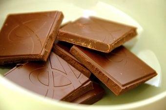 Billede med chokolade