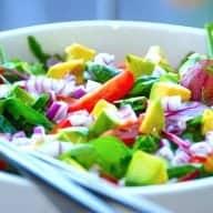 Billede resultat for avocadosalat