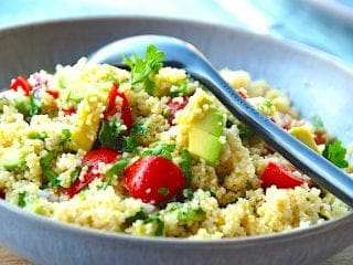 Billede resultat for couscous salat med avocado