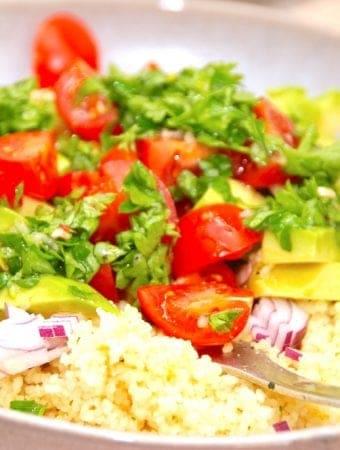 Nem opskrift på dressing til couscous salat