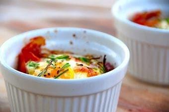 Brunchæg i ovn – ovnbagt æg i skål eller form