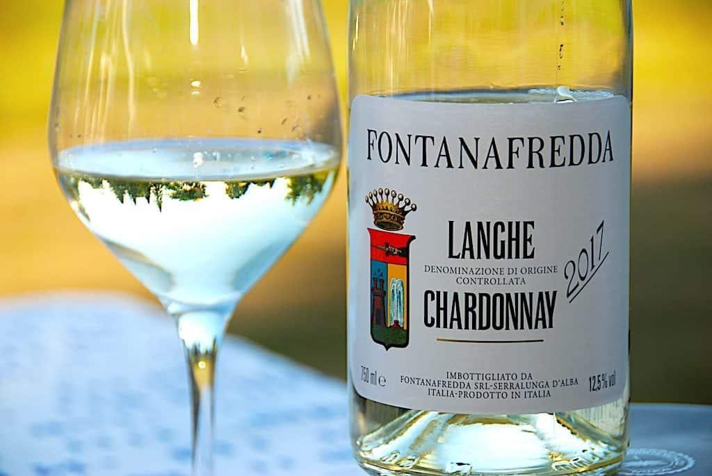 Billede med Fontanafredda hvidvin Langhe Chardonnay