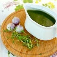 Billede resultat for grøn hvidløgssauce