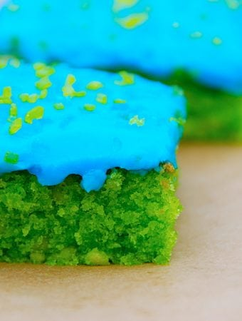 Grøn kage – giftkage – bladankage – klassens time kage