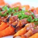 Billede resultat for gulerødder med bacon