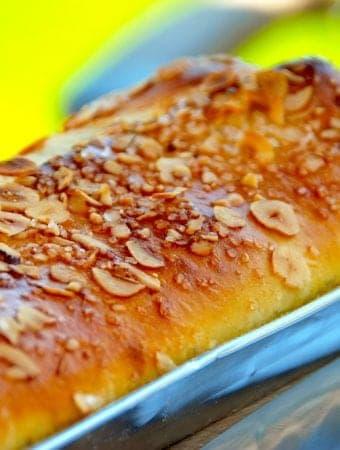 Nem opskrift på kringle med pære (én times kringlen)