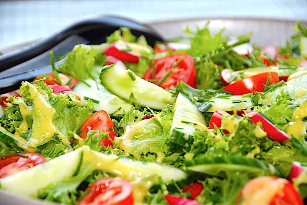 Alle opskrifter med salat og dressing