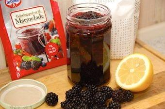 Brombærmarmelade – nem marmelade med brombær