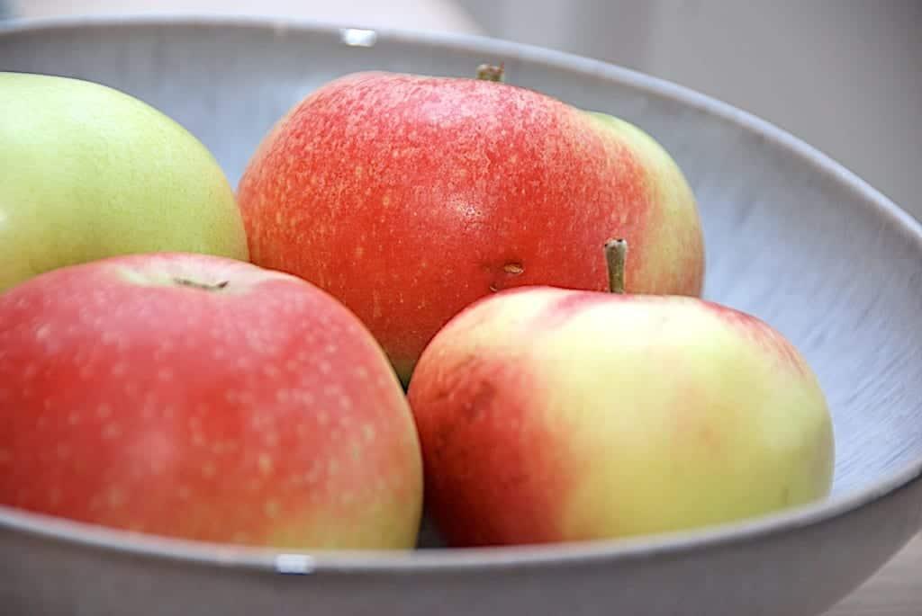billede med danske discovery æbler fra Samsø
