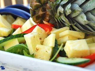 billede resultat for ananassalat - salat med ananas