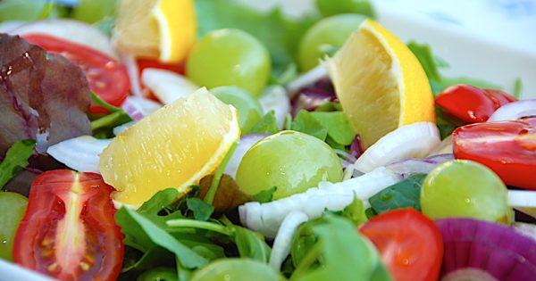 Billede resultat for salat med vindruer