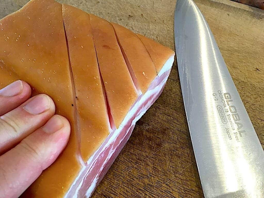 billede med bacon til bacongryde