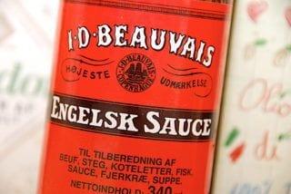 billede med engelsk sauce