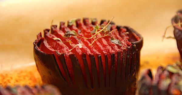 billede med hasselback rødbeder