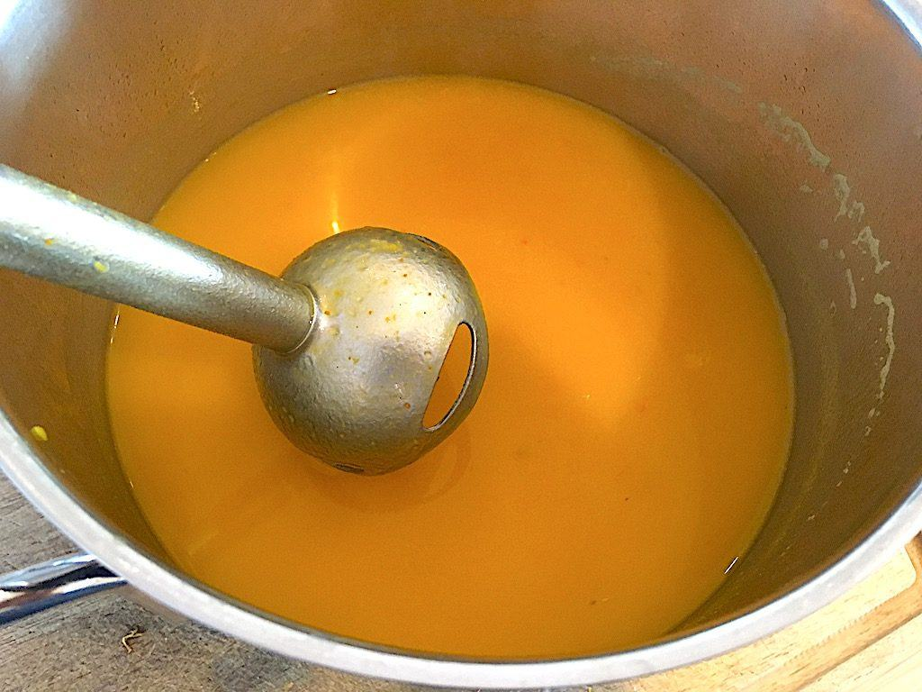 billede med hokkaido græskarsuppe