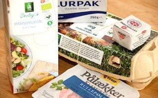 billede med mindst holdbar til fødevarer