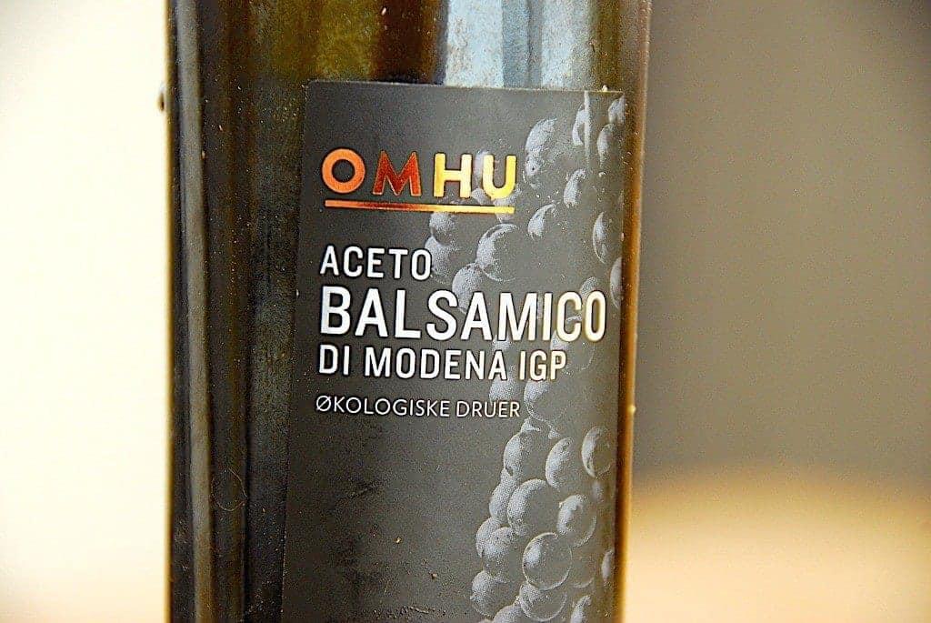 billede med økologisk balsamico fra modena i Italien